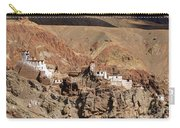 Ruins At Basgo Monastery Leh Ladakh Jammu And Kashmir India Carry-all Pouch