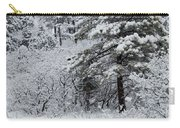 Snowstorm In The Pike National Forest Carry-all Pouch