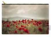 Summer Poppy Meadow Carry-all Pouch