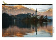 Sunset Over Lake Bled Carry-all Pouch