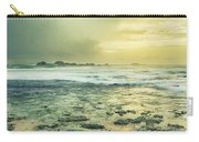 Sunset Over The Sea Carry-all Pouch