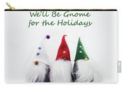 Three Holiday Gnomes 2a Carry-all Pouch
