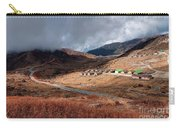 Top View Of Kupup Valley, Sikkim, Himalayan Mountain Range Carry-all Pouch