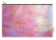 5. V1 Orange, Red And Yellow 'sun' Glaze Painting Carry-all Pouch
