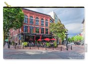 Outdoor Cafe In Gastown, Vancouver, British Columbia, Canada Carry-all Pouch