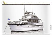 50 Foot Hatteras Motoryacht Carry-all Pouch