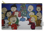 50 Years A Charlie Brown Christmas Acrylic Painting Carry-all Pouch