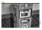 50's Gas Pump Bw Carry-all Pouch