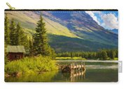 Landscape Painting Acrylic Carry-all Pouch
