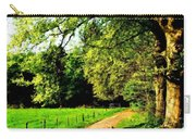 Oil Landscape Art Carry-all Pouch