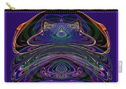 543 - Design Purple Abstract Abstract Carry-all Pouch