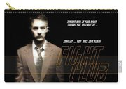 5499 Fight Club Hd S Black Carry-all Pouch
