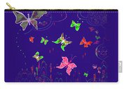 558   Butterflies  V Carry-all Pouch