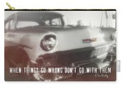56 Belair In Memphis Quote Carry-all Pouch