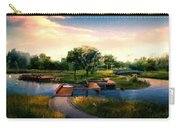 Landscape Painted Carry-all Pouch