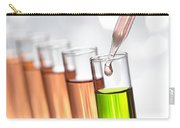 Test Tubes In Science Research Lab Carry-all Pouch