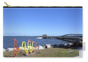 Indian River Lagoon At Eau Gallie In Florida Usa Carry-all Pouch
