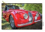 1954 Jaguar Xk 120 Se Ots  Carry-all Pouch