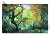 6 Abstract Japanese Maple Tree Carry-all Pouch