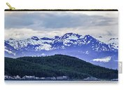 Alaska Nature And Mountain In June At Sunset Carry-all Pouch