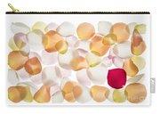 Back Lit Flower Petals  Carry-all Pouch