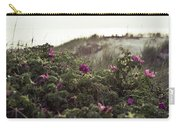 Rose Bush And Dunes Carry-all Pouch