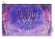 Chanukkah Lights Carry-all Pouch