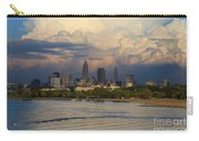 Cleveland Skyline From A Distant Park Carry-all Pouch