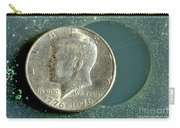 Coin Containing Silver Inhibits Carry-all Pouch