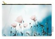 Corn Poppy Flowers Carry-all Pouch by Nailia Schwarz