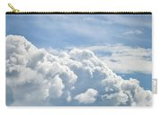 Dramatic Cumulus Clouds With High Level Cirrocumulus Clouds For  Carry-all Pouch