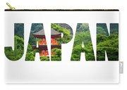 Five-storey Pagoda In Miyajima, Japan  Carry-all Pouch