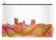 Fort Wayne Indiana Skyline Carry-all Pouch