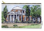 Jefferson: Monticello Carry-all Pouch
