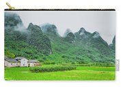 Karst Mountains Rural Scenery Carry-all Pouch