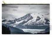 Mountain Range Scenes In June Around Juneau Alaska Carry-all Pouch