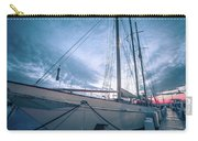 Newport Rhode Island Harbor With Tall Ships At Sunset Carry-all Pouch