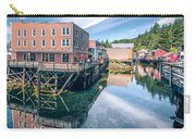 Old Historic Town Of Ketchikan Alaska Downtown Carry-all Pouch