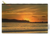 Orange Sunrise Seascape Carry-all Pouch