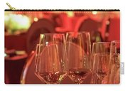 Party Setting With Colorful Bokeh Background Carry-all Pouch