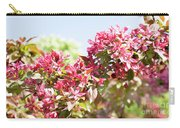 Pink Cherry Flowers Carry-all Pouch