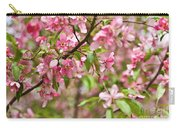 Pink Cherry Tree Carry-all Pouch