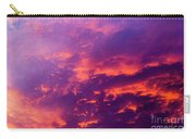 Red Cloudscape At Sunset. Carry-all Pouch