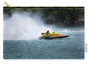 Roostertail From Racing Hydroplanes Boats On The Detroit River For Gold Cup Carry-all Pouch