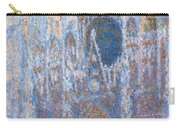 Rouen Cathedral, West Facade Carry-all Pouch