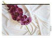 Silk Flower Carry-all Pouch