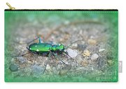 6-spotted Green Tiger Beetle Carry-all Pouch