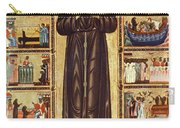 St Francis Of Assisi Carry-all Pouch