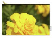 Tagetes Patula Fully Bloomed French Marigold At Garden In Octob Carry-all Pouch