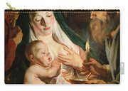 The Holy Family With Shepherds Carry-all Pouch